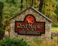 Red Maple Inn Sign